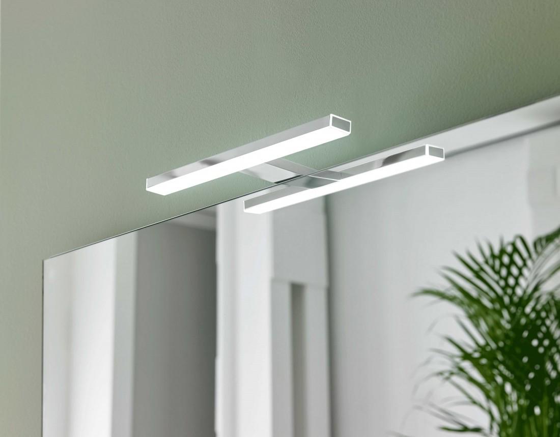 LED osvětlení Focco Esther 50x2,9 cm chrom ESTHER500NEW