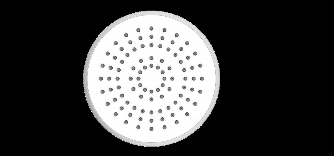 Sprchový systém Swiss Aqua Technologies s termostatickou baterií bílá/chrom SATSSTKP