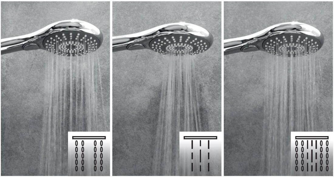 Ruční sprcha Siko chrom SIKOBSRST31