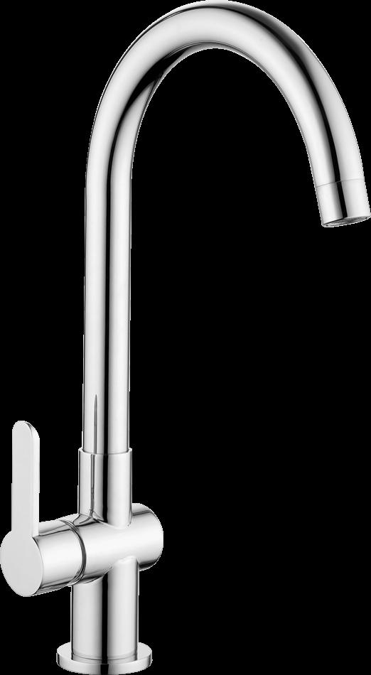 Dřezová baterie Optima Sofie s otočným raménkem chrom SO180