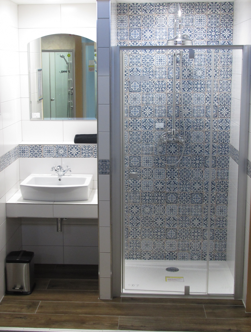 Sprchový systém Paffoni Ricordi s kohoutkovou baterií chrom ZCOL000